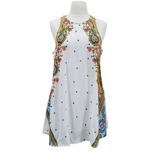 Free People Intimately Floral Paisley Swing Tunic